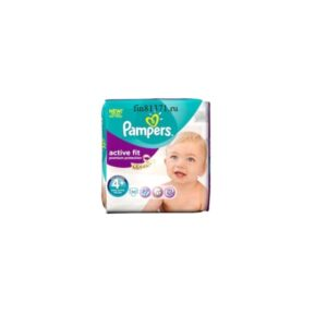 Подгузники Pampers active fit № 4+  7-18 кг (thumb2586)